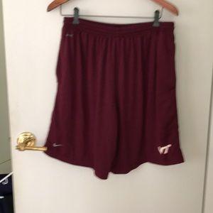Nike VA TECH TEAM MENS Shorts& Royal Blue ShortsXL
